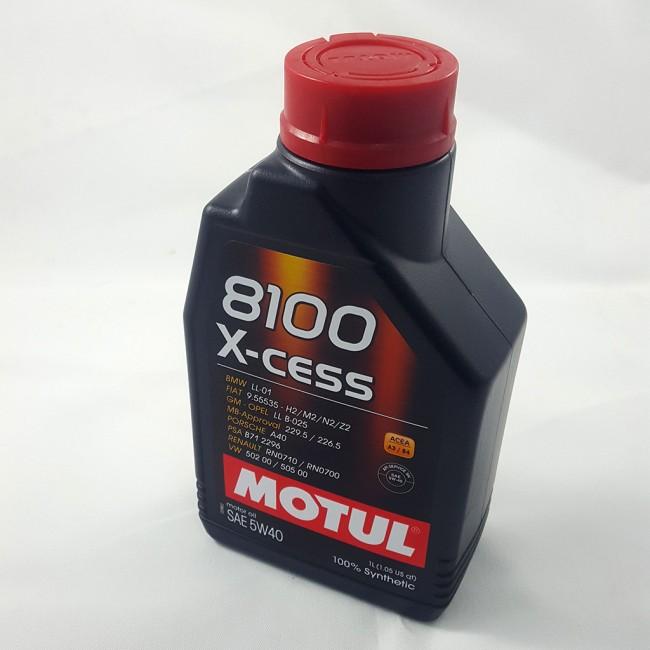 MOTUL 8100 X-CESS 5w/40 1lt
