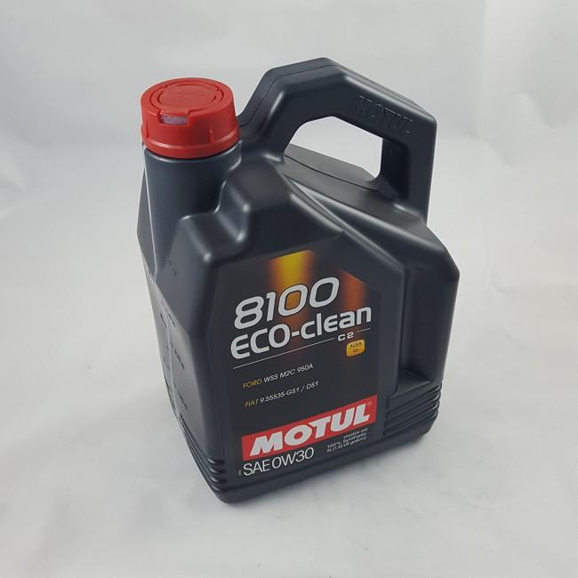 MOTUL 8100 ECO-CLEAN 0W-30 5lt