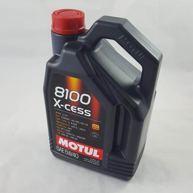 MOTUL 8100 X-CESS 5w/40 4lt